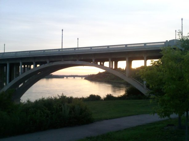 Broadway Bridge, Saskatoon at Sunrise